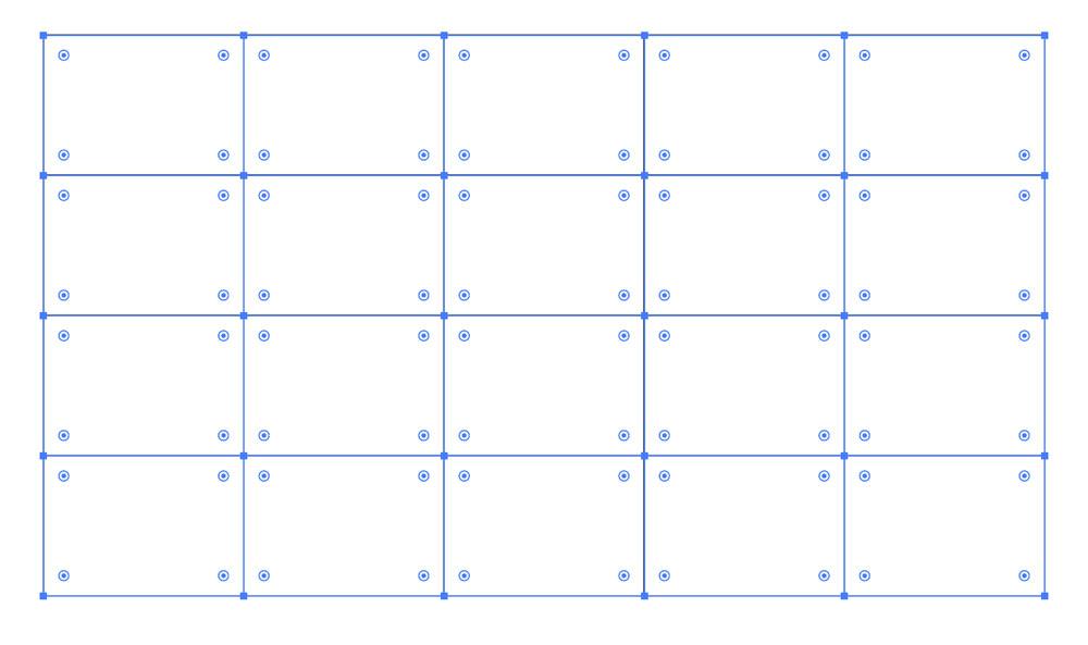 表の枠組み完成
